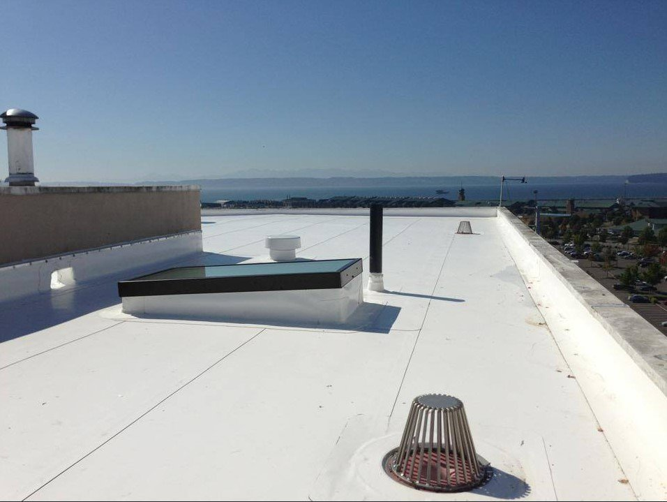 PVC Roofing - 5 Star Commercial Roofing pvc roofing 1