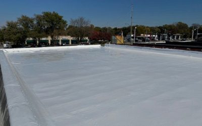 Elastomeric roof coating over PVC roof